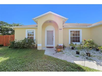 518 SW Ryan Avenue Port Saint Lucie, FL MLS# RX-10486689