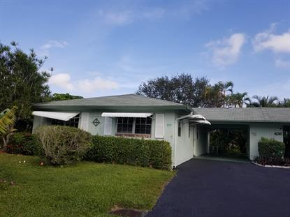 435 Bluebird Lane Delray Beach, FL MLS# RX-10494671