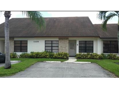 1230 Parkside Green  West Palm Beach, FL MLS# RX-10495064