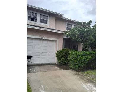 647 Latona Avenue Lake Worth, FL MLS# RX-10633387