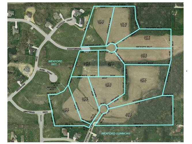 LOT  8 PRESERVE AT WEXFORD, Danville, IN 46122