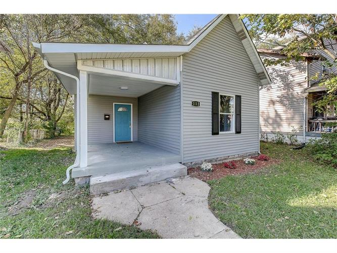 112 North Dequincy, Indianapolis, IN 46201