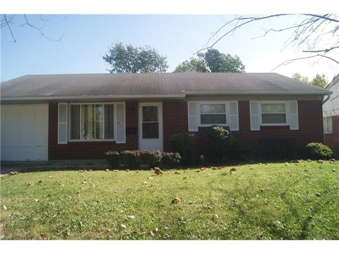 3417 North Sadlier Drive, Indianapolis, IN 46226