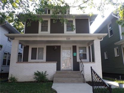 550 Eastern  Indianapolis, IN MLS# 21654576