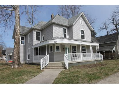 501 N East Street Greenfield, IN MLS# 21702221