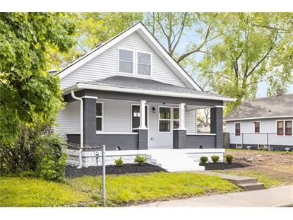 825 N PARKER Avenue Indianapolis, IN MLS# 21710308