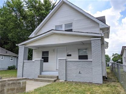 871 W 25th Street Indianapolis, IN MLS# 21721395