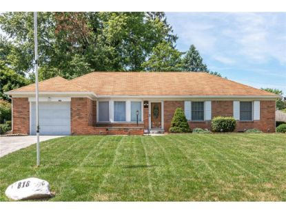 818 Chapel Hill East Drive Indianapolis, IN MLS# 21729295