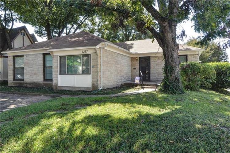 3337 Westminster Avenue, University Park, TX 75205