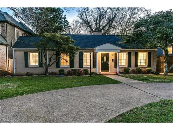 7214 La Vista Drive, Dallas, TX 75214