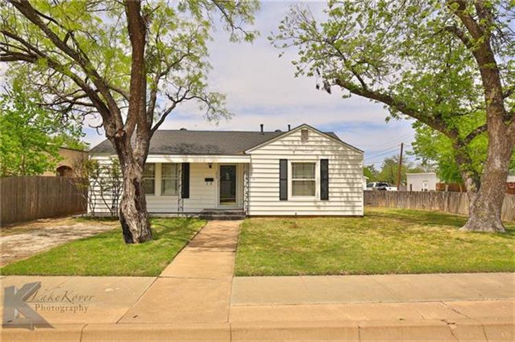 1626 S 9th Street, Abilene, TX 79602