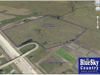 40 AC Interstate 45 Highway , Rice, TX