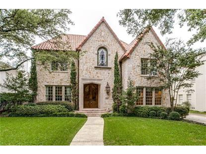 4512 Beverly Drive  Highland Park, TX MLS# 13468884