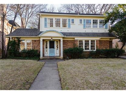 3617 Potomac Avenue  Highland Park, TX MLS# 13490438