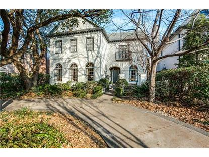 3520 Potomac Avenue  Highland Park, TX MLS# 13522171