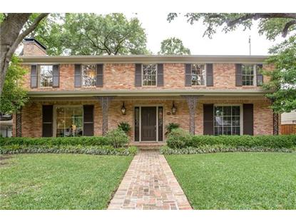 4651 Beverly Drive  Highland Park, TX MLS# 13614222