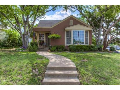 2900 Forest Park Boulevard  Fort Worth, TX MLS# 13624313