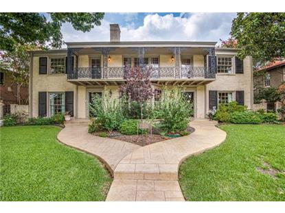 4546 Westway Avenue  Highland Park, TX MLS# 13629926
