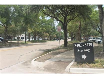 8404 Sterling Street  Irving, TX MLS# 13667994