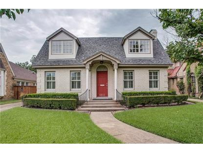 6612 Lakeshore Drive  Dallas, TX MLS# 13677730