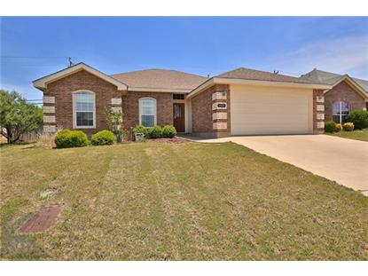 5525 Yellow Brick Road  Abilene, TX MLS# 13837205
