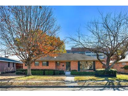 2814 Sharpview Lane  Dallas, TX MLS# 13839646