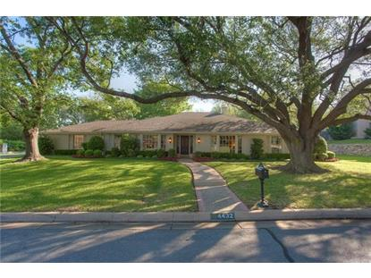 4432 Dunwick Lane  Fort Worth, TX MLS# 13844201