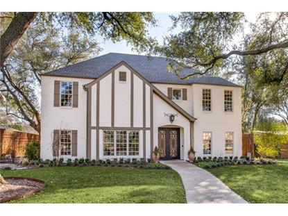 5858 Colhurst Street  Dallas, TX MLS# 13875485
