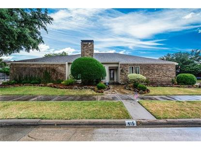 415 Winding Brook Lane  Richardson, TX MLS# 13890024