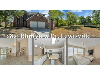2821 Bluffview Drive  Lewisville, TX MLS# 13908340