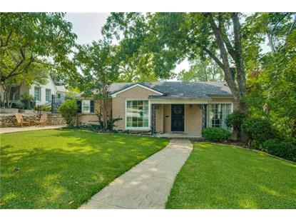 3809 Bellaire Drive S  Fort Worth, TX MLS# 13912264