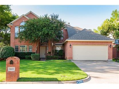 6415 Wilderness Court  Arlington, TX MLS# 13925409