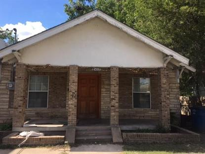 4509 Rusk Avenue  Dallas, TX MLS# 13927501