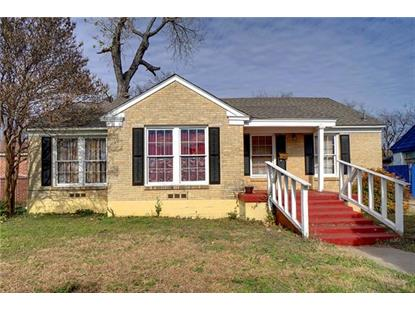 3209 Mclean Street  Fort Worth, TX MLS# 13985210