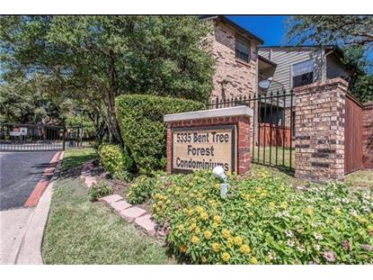 5335 Bent Tree Forest Drive  Dallas, TX MLS# 14006088