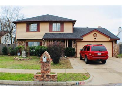 1406 Barbara Lane  Arlington, TX MLS# 14007630