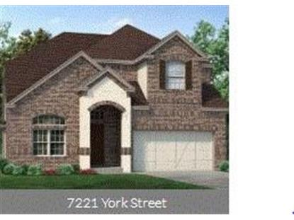 7221 York Street  North Richland Hills, TX MLS# 14116439