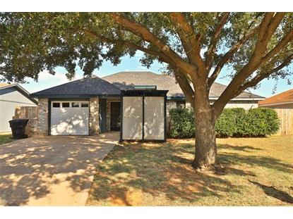 3865 Radcliff Road  Abilene, TX MLS# 14194115