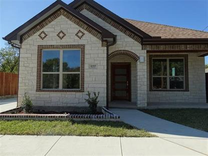 4103 Furey Street  Dallas, TX MLS# 14220156