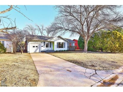 2602 S 22nd Street Abilene, TX MLS# 14498521