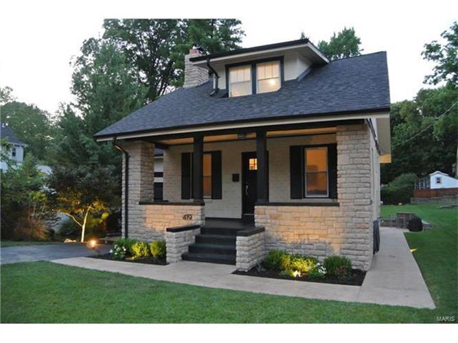 419 lee avenue webster groves mo 63119 mls 17058314. Black Bedroom Furniture Sets. Home Design Ideas