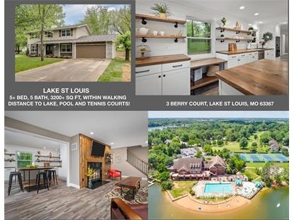 3 Berry Court Lake St Louis, MO MLS# 20031809