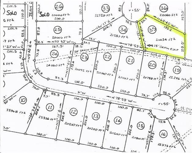 0 Hunters Creek Lot # 35, Tullahoma, TN 37388