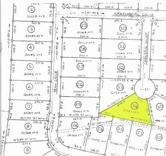 0 Hunters Creek Lot # 34, Tullahoma, TN 37388