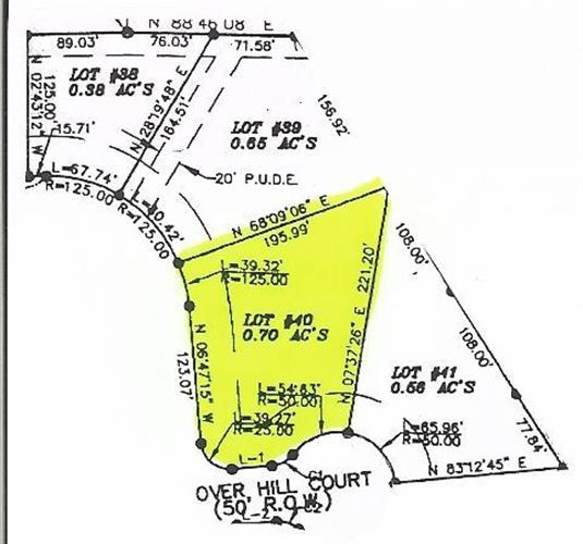 0 Cherokee Estates - Lot 40, Winchester, TN 37398
