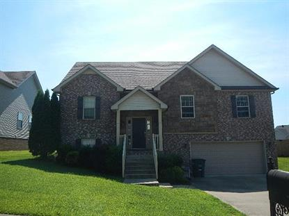 753 W Accipiter Cir Clarksville, TN MLS# 1844570