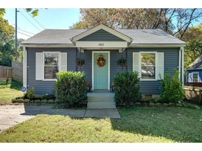 1012 Dew St Nashville, TN MLS# 1984865