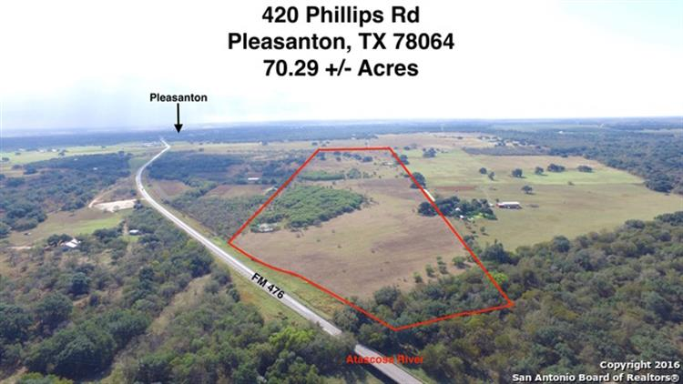 420 PHILLIPS RD, Pleasanton, TX 78064