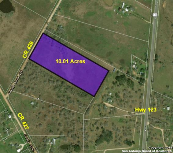 10.01 AC County Road 429, Stockdale, TX 78106