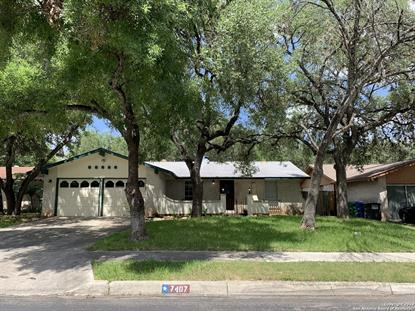 7407 PIPERS CREEK ST  San Antonio, TX MLS# 1397136